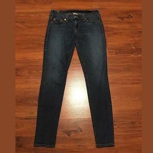 True Religion Casey Skinny Jeans Size 31